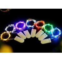 Wholesale Multicolor / White Battery Operated LED String Lights , Indoor Fairy Lights from china suppliers