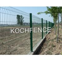 China V Shape Curve Foldable Garden Fence For Science Industry Zone Various Color on sale