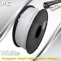 Wholesale 1.75 / 3.0 mm  PC Filament  White for 3d Printer Filament from china suppliers