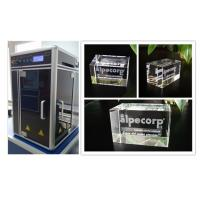 Wholesale Kiosk Camera 3D Glass Crystal Laser Engraving Machine 3W Laser Powered from china suppliers