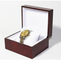Buy cheap Classic Jewelry Wooden Box With White Leather Pillow  , Wooden Watch Box from wholesalers