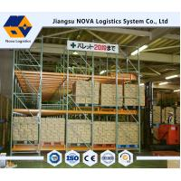Wholesale Steel Q235b Raw Material Warehouse Pallet Racking Systems wITH Powder Coating from china suppliers