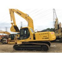 Wholesale Used Komatsu Crawler Hydraulic Excavator PC220 22180kg Operate Weight With 1m3 Bucket from china suppliers