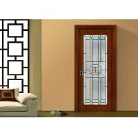 China Fireproof Bevel Clear Sliding French Patio Doors , Safety French Glass Sliding Patio Doors on sale