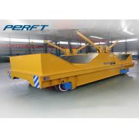 Wholesale Coil Rail Transfer Cart Electric Material Battery Operated Coil Transfer Cart Industry Transfer Car from china suppliers