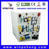 China birthday greeting cards on sale