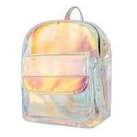 Wholesale Young Lady Shiny Hologram Transparent Shoulder Bag Girl Makeup Organizer and Travel Bag from china suppliers