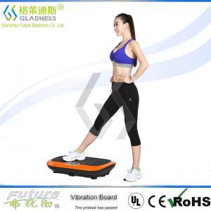 China Gladness Full Body Vibration Platform Fitness Massage Machine 3D Vibration Plate on sale
