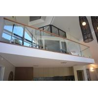 Wholesale Popular design stainless steel spigot clear glass railing for balcony design from china suppliers