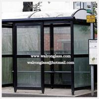 Wholesale Bus Stop/Station/Shelter with Thick Tempered Glass from china suppliers
