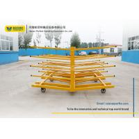 Quality Steel Frame Rack Truck Die Transfer Cart For Assemble Line Transportation for sale
