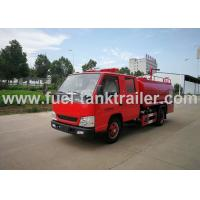 Buy cheap JMC Water Tank Fire Fighting Vehicle , 4x2 Red Color Fire Fighting Truck from wholesalers