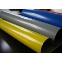 Wholesale Hypalon Fabric Sheet , Industrial Neoprene Rubber Sheet Yellow , Grey , Red , Blue from china suppliers