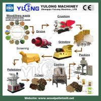 China YULONG made biomass wood pellet machine production line on sale