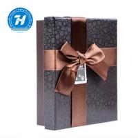 Recyclable Chocolate Paper Box With Bow - Knot Kraft Paper Duplex Board