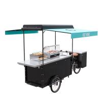 Wholesale Electric Bike Food Cart Easy Cleaning With Large Product Operation Space from china suppliers