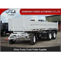 Wholesale Bulk Cargo Side Wall Trailer FUWA / BPW Brand Axles Carbon Steel Material from china suppliers