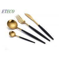 Wholesale Dishwasher Safe Gold Cutlery Set Plate Knife Kitchen Tools Restaurant Using from china suppliers