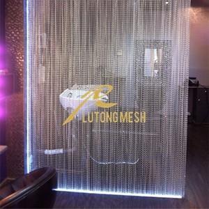 China Aluminium hanging fly screen curtain hotel room curtain on sale