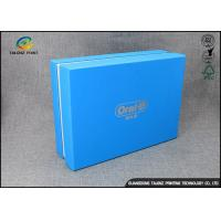 Wholesale Luxury Cardboard Apparel Packaging Box With Logo Printed / Shirt Packaging Boxes from china suppliers