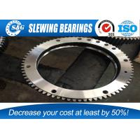 Wholesale Small Assembly Gap Excavator Turntable Bearing Outer Gear Heat Treatment from china suppliers