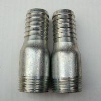 Wholesale Galvanized iron king nipple with BS thread from china suppliers