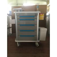 Wholesale Factory Direct Stainless Steel Medical Emergency Trolley Cart Hospital Trolley Drug Delivery Cart from china suppliers
