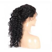 360 Lace Frontal Wigs For Black Women Deep Wave Natural Color Pre Plucked Natural Hairline Remy Hair Human Hair Wigs