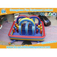 Buy cheap 0.55mm Plato PVC Tarpaulin Inflatable Bouncy House Club With Slide from wholesalers