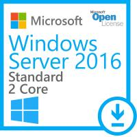 Wholesale Open business Microsoft Windows Server 2016 Standard Core Open License - 2 Cores from china suppliers