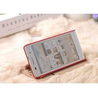 Wholesale Lightweight Full Body Huawei Ascend P6 Phone Case / TPU + PU Leather Cover from china suppliers