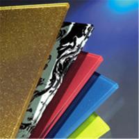Buy cheap yello painted glass from Wholesalers