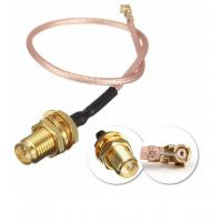 Wholesale DC To 6GHz Coaxial Cable Connectors , RG316 Waterproof Sma Connector from china suppliers