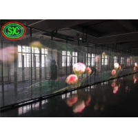 Wholesale 1R1G1B P10.42 4000nits Transparent Led Display Glass from china suppliers