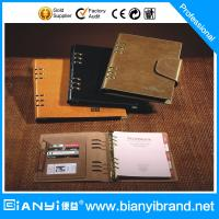 Wholesale Business PU Cover loose leaf notebook from china suppliers