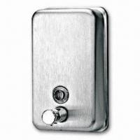 Wholesale Wall-mounted Soap Dispenser with Polish or Satin Finish, Durable, CE Certified from china suppliers