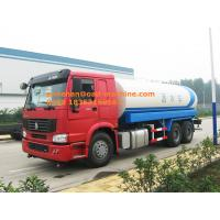 Buy cheap SINOTRUK HOWO water Tanker 6x4 290hp water tank truck 15m3 10tires from wholesalers