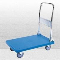 Wholesale Handtruck with Folding Handle and Plastic Platform from china suppliers
