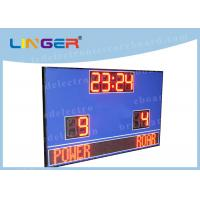 Waterproof Cabinet With Wireless Controller Led Football Scoreboard for Outdoor Use