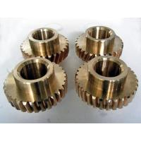 China Brass Worm and worm wheel on sale