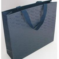 Wholesale Fashion Black Paper Bags With Handles , Company Logo Promotional Gift Bags from china suppliers