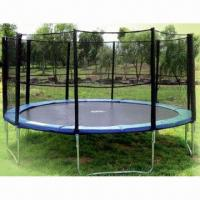 Big Trampoline With Safety Net Quality Big Trampoline