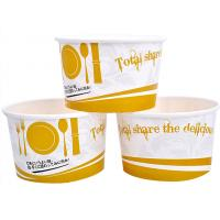 Wholesale 3oz 5oz Branded Ice Cream Cups / Bowls For Ice Cream Shop , Eco - Freindly Ink from china suppliers