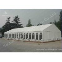 China Hard Extruded Aluminum tents for parties , 850 gsm Soft PVC Fabric Cover on sale