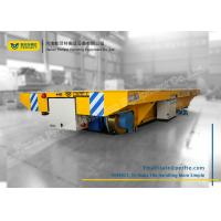 Quality Custom Battery Transfer Cart Electric Railway Platform used for Building Site for sale