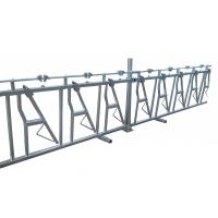 China Hot Dip Galvanized Steel Pipe Cattle Headlock Feeder Panels 10FT-14FT Size on sale
