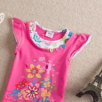 Wholesale 2014 wholesale  girls T-shirt sweet girl clothing from china suppliers