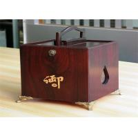 Wholesale Girls lamination Tea / Exhibition / Jewelry Wood Boxes Packaging Rectangular Shaped from china suppliers