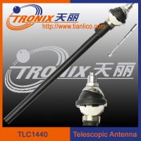 Wholesale am fm radio car antenna/ 4 sections white mast car telescopic antenna TLC1440 from china suppliers