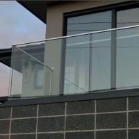 Wholesale aluminum u channel glassbalustrade, u channel glass railing from china suppliers